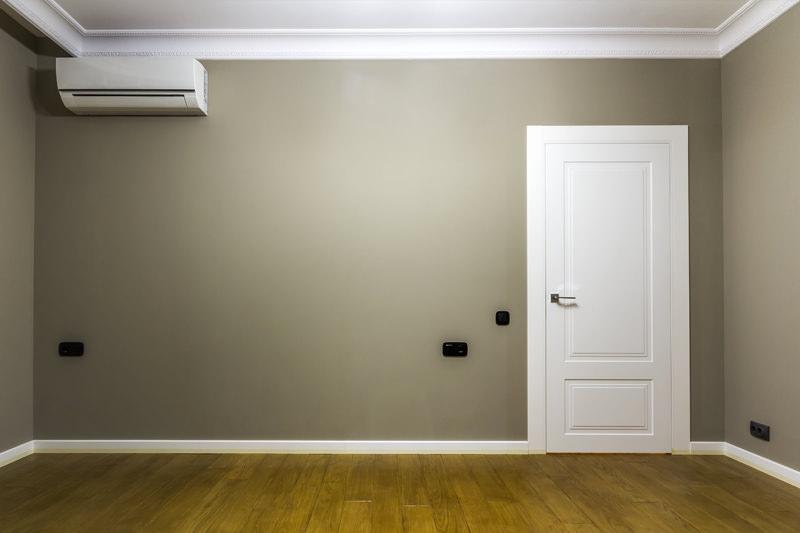Ristrutturazione stanza e installazione condizionatore dopo